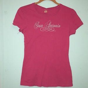 Pink San Antonio T-Shirt